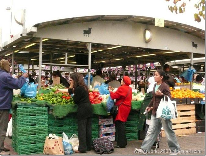 Bullring market, Birmingham, UK