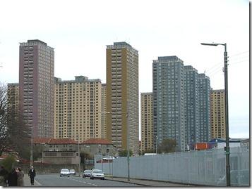 Жилой комплекс Red Road, Глазго