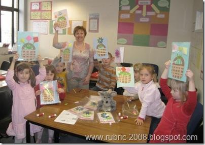 Ирина Смит со своими воспитанниками