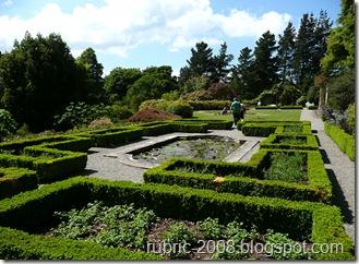 В парке замка Пенрин