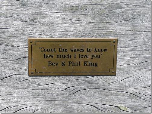 Сосчитай волны, чтобы узнать, как сильно я люблю тебя. Бев и Фил Кинг.