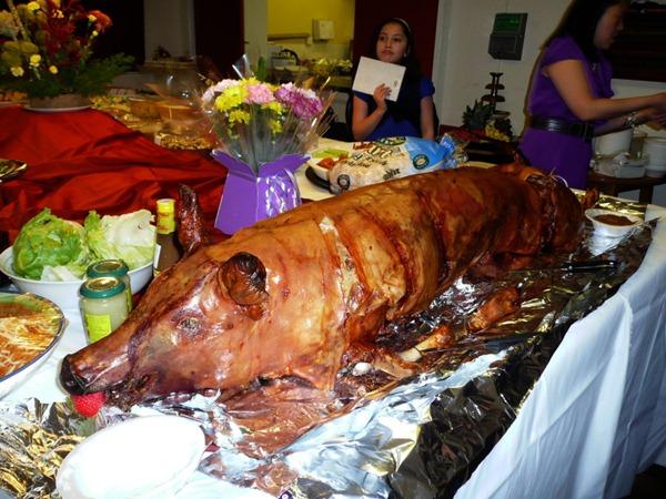 Жареная свинья