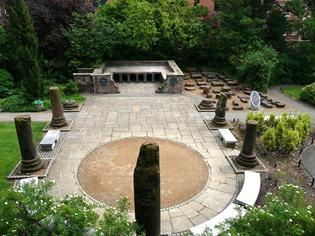 Честер, Римские сады