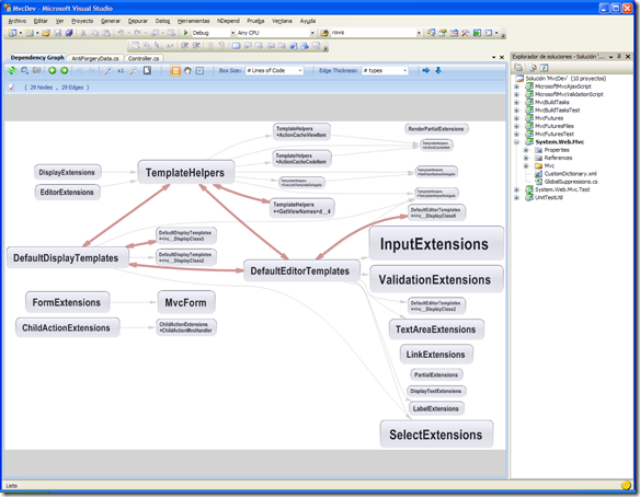 Dependencias con NDepend 3