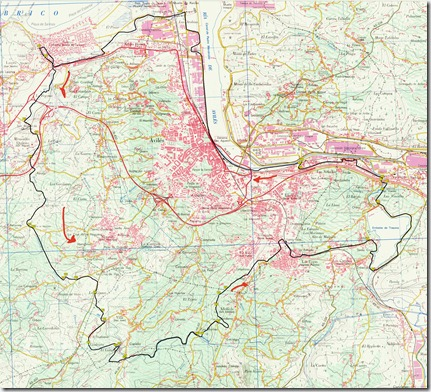 Mapa Salinas-TRasona