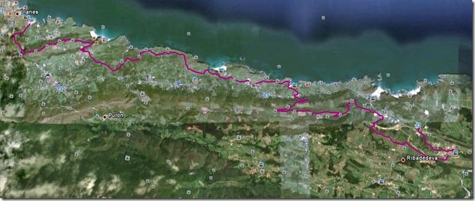 mapa ciclocostera