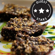 Flourless Olive Oil And Sesame Seed Brownies