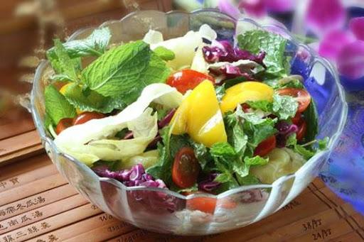 素食食譜-涼拌五色蔬