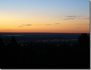 Cheyenne mtn cmpgrnd sunrise