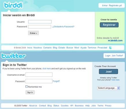 Birddi vs Twitter