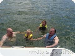 Matt, Grandpa, Emily, Katey