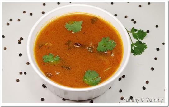 Tomato Rasam / Thakkali Rasam