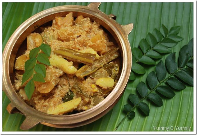 Kerala Jack Fruit Aviyal