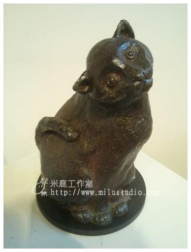 我的貓-鄧淑慧陶藝個展