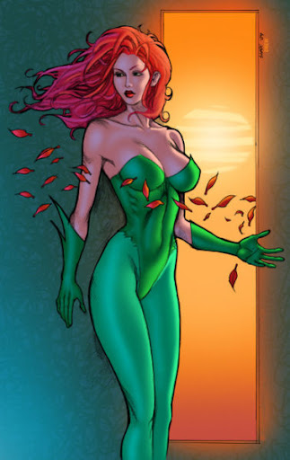 poison ivy batman cartoon. poison ivy batman