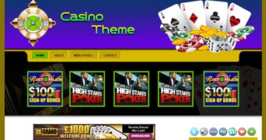 Casino Wordpress Theme - wpg137