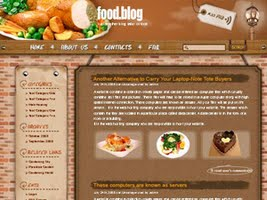 Seeking restaurants free wordpress theme