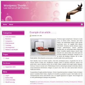 Love Wordpress Theme