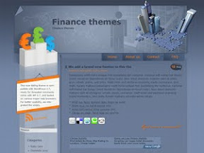 Finance theme free wordpress theme