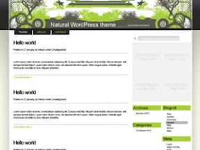 Natural Wordpress Theme Free Wordpress Theme
