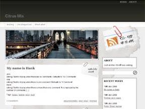 Fresh-editorial Free Wordpress Theme