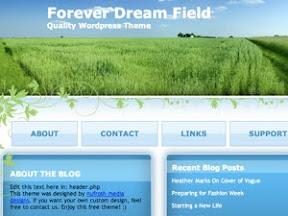 Forever Dream Field Free Wordpress Theme