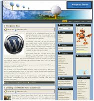 Free Wordpress Golf Theme