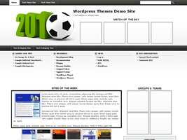 Football Wordpress Theme 1