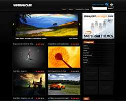 WpShowcase Premium Free Gallery Wordpress Theme