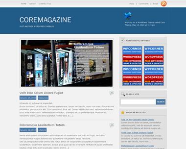 Core Magazine Theme