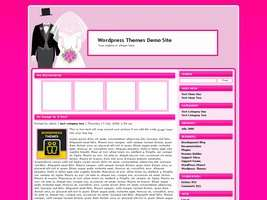 Wedding Wordpress Theme 2