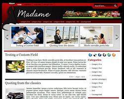 Free Wordpress Theme - Madame