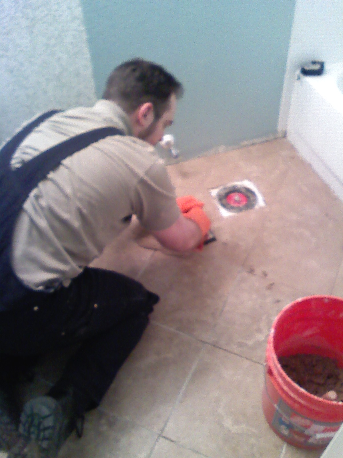 Mr Homeowner Tear Down This Wall Grout Expectations
