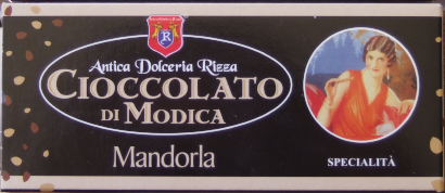Sizilien - Palermo - Schokoladen-Spezialität aus Sizilien