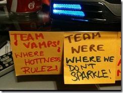 Vamps, Weres