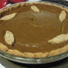 Vegan Pumpkin Pie and Crust