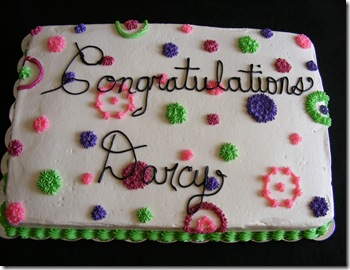 Darcy Dayton Grad Cake
