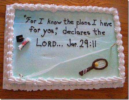 Jenna Bart Grad cake