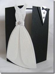 Jeff & Jess wedding card