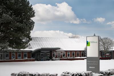 Kreiskrankenhaus Osterholz im Schnee