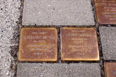 Stolperstein Hanny Meyer und Bernhard Meyer in Bremen