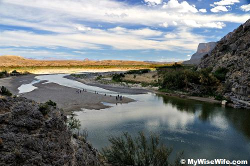 Folks on the delta, where Terlingua Creek meets Rio Grande
