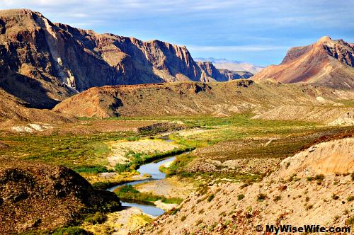 Rio Grande & green ribbon gives life to many...