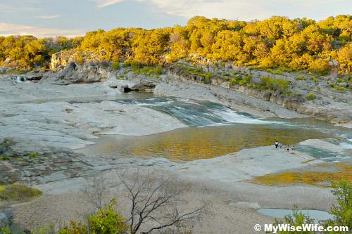 The gorgeous Pedernales Falls