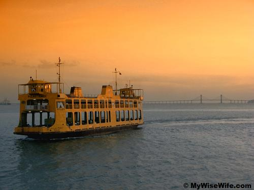 The charming Penang ferry
