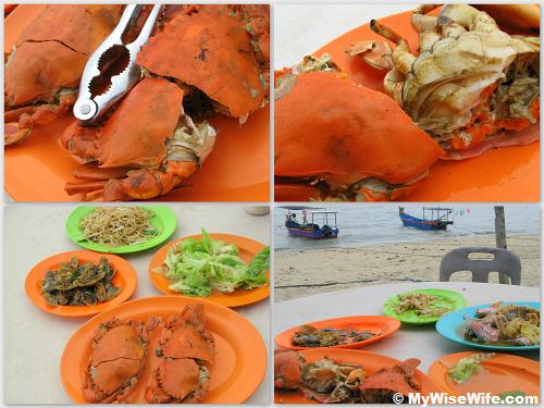 Wow..the crabs are the highlight of all..