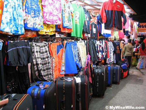 Clothing and luggage