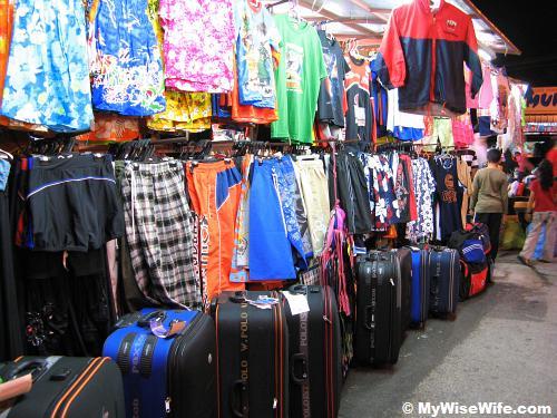 Clothing and luggage