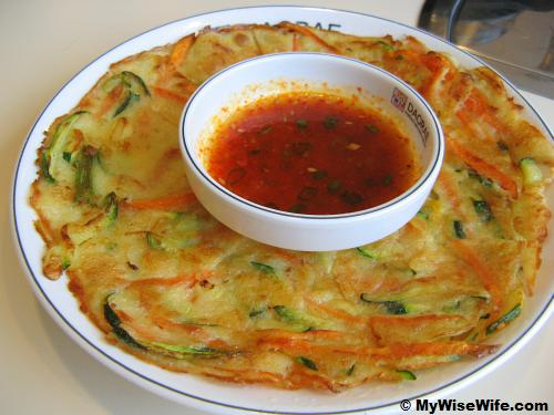 Nice Korean pancake