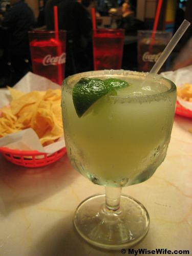 Margarita for the gentleman..